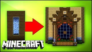 Minecraft Build School: Windows (#1) Creative building tricks and tips