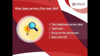 Putting  service before IT: Exploring the Future of ITSM