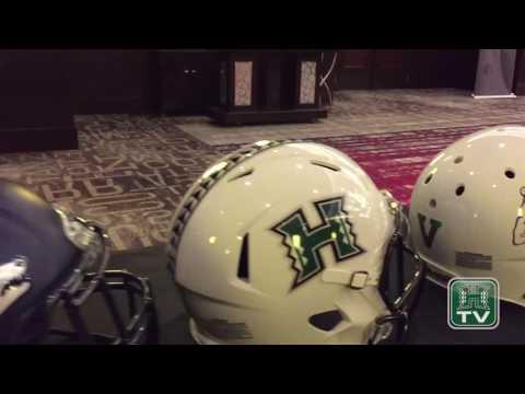 Hawaii Football At 2017 Mountain West Media Summit (видео)