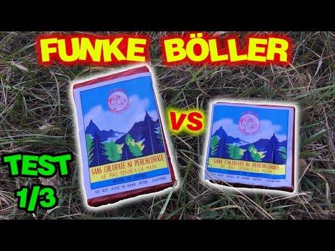 FUNKE D-Böller VS FUNKE Super Böller 2 | [Test 1/3] | MrPyroManager