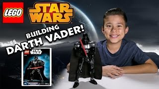 LEGO DARTH VADER Build - Bonus Video! Set 75111