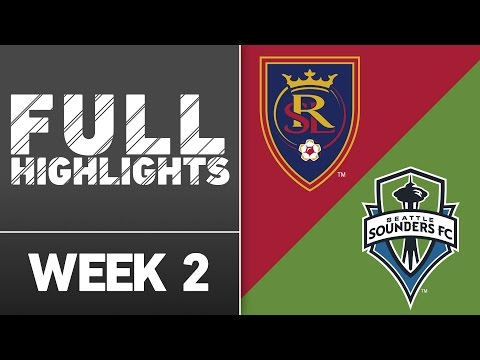 Video: HIGHLIGHTS: Real Salt Lake vs. Seattle Sounders | March 12, 2016