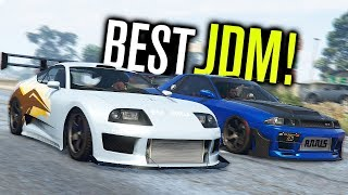 The BEST JDM CAR In GTA 5?!