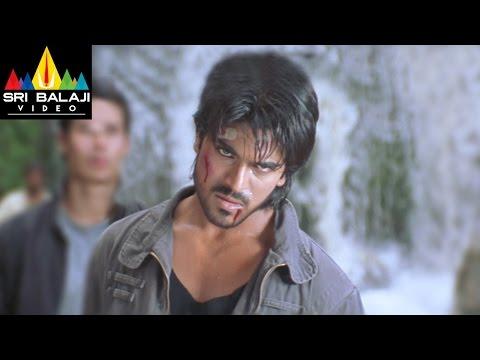 Chirutha Movie Back to Back Fight Scenes   Ram Charan, Ashish Vidyarthi   Sri Balaji Video