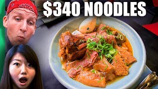 Video $3 Noodles VS $340 Noodles! (WORLD RECORD Breaking Bowl of Noodles!) MP3, 3GP, MP4, WEBM, AVI, FLV Agustus 2019