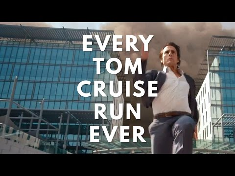 A Supercut of Tom Cruise Running in Movies