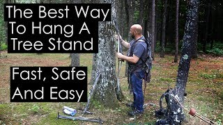 Video Best Way To Hang A Tree Stand Fast Safe And Easy MP3, 3GP, MP4, WEBM, AVI, FLV Desember 2018