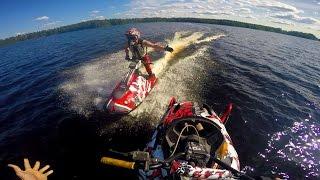 10. Watercross 200hp sled  -  100% GoPro 4 edit