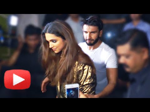 Ranveer Singh Protects Deepika Padukone From Crazy