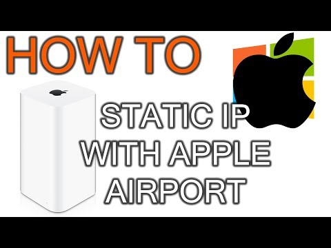 How To Setup Static Ip With Apple Airport