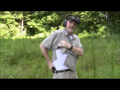 Drawing Concealed Firearm From IWB Holster
