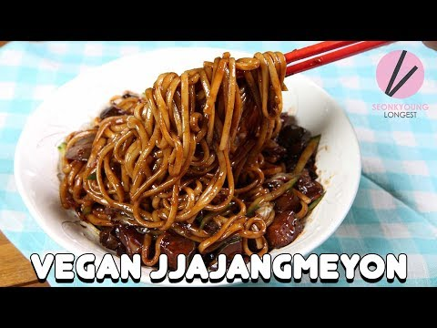 Vegan Jjajangmyeon