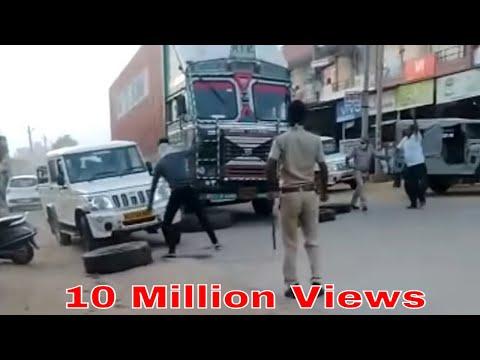 फिल्मी अंदाज में ड्राइवर ने दौड़ाया कन्टेनर, परबतसर से लेकर लोसल तक तीन थानों की पुलिस ने किया पीछा