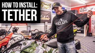 7. Installing a Tether on a Polaris 850