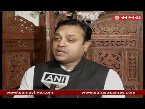Sambit Mahapatra on President expressed concern over stalemate in Parliament