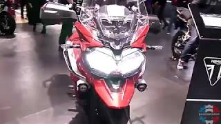 7. 2018 Triumph Tiger 1200 XRT Walkaround Review | Engine Specifications Details and Colors