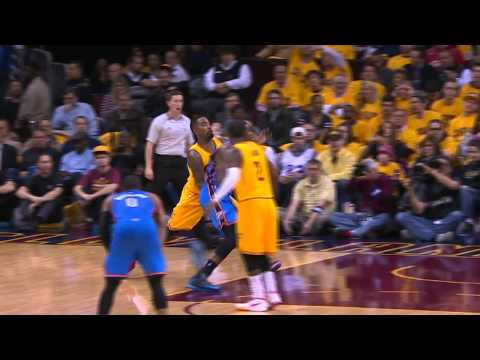 Video: Kevin Durant Throws Down Power Jam on Cavs