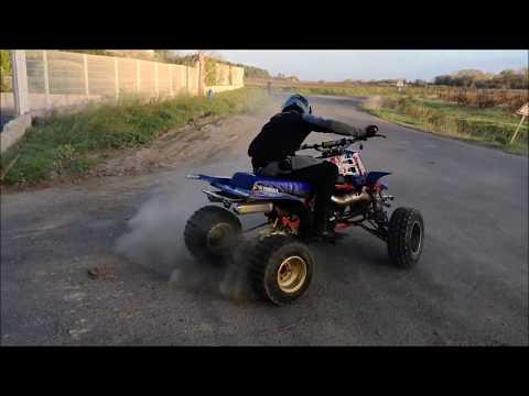 Drifting & Donuts en Quad , Yamaha BANSHEE