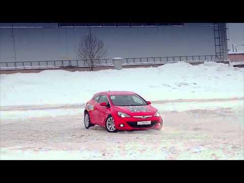 Opel Astra 3D Opel Astra GTC 2012 тест-драйв в Яхрома (16.01.12)