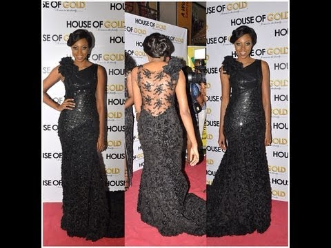 The Premiere of Yvonne Nelson's Movie ''House of Gold''