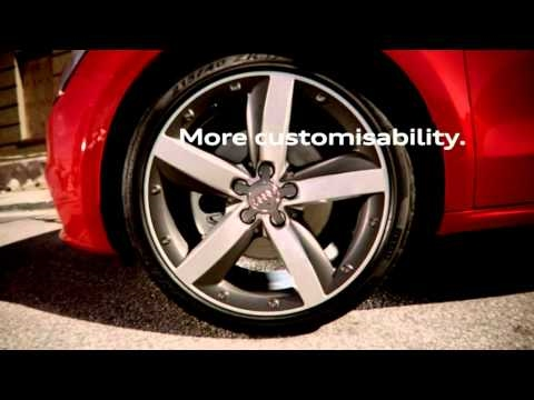 official Audi A1 Showroom trailer