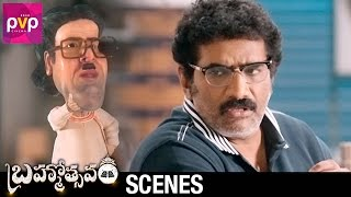 Rao Ramesh and Rao Gopal Rao Funny Conversation | Brahmotsavam Movie Scenes | Mahesh Babu | Samantha