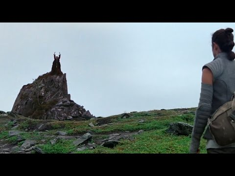 A Monty Python and Star Wars Mashup Where Rey Finds Tim the Enchanter Instead of Luke