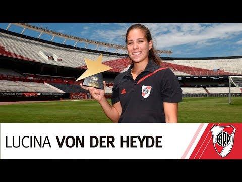 Lucina Von der Heyde, la mejor jugadora Junior del mundo