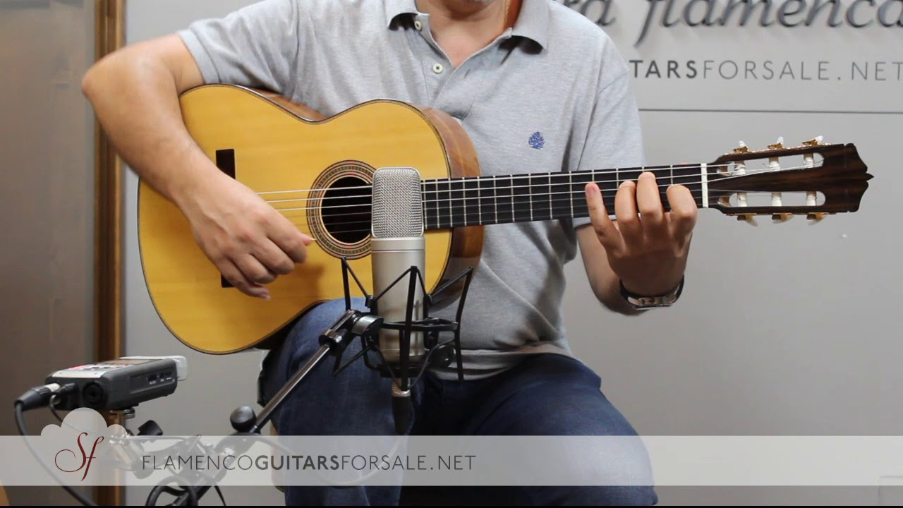 VIDEO TEST: Pavel Bashmakov 2016 Mod. Campanella nº 174 flamenco guitar for sale