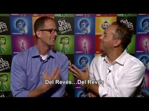 Del Revés - Pete Docter y Jonas Rivera saludan a los fans españoles?>