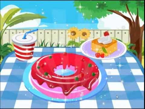 Video of Choco Dreamy Donut Decor