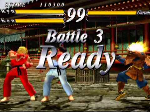 Street Fighter EX 3 (PlayStation 2) Original Mode As Ryu