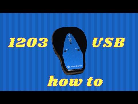 1203 USB Setup and Config