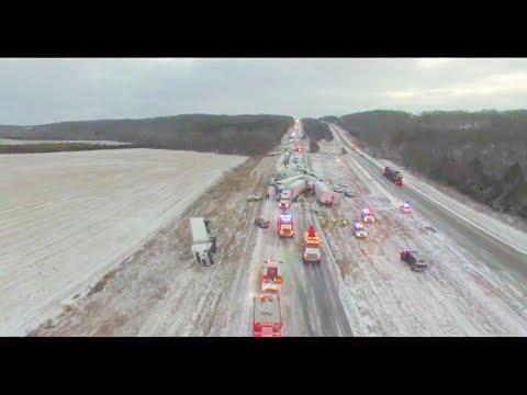 Missouri (USA): Massencrash mit 100 Fahrzeugen