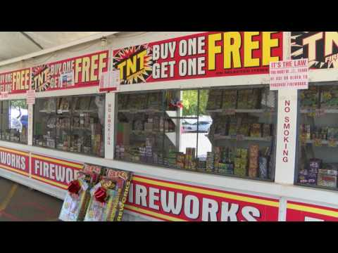 Firework stands now open in Imperial Valley