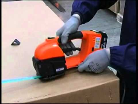 Battery Operated Strapping Tool | Columbia GT-One  Video Image