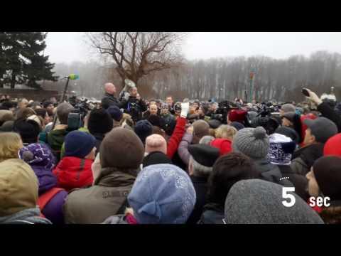 Проект 60sec №647. Митинг против передачи Исаакиевского собора РПЦ (видео)