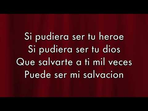 Enrique Iglesias - Heroe lyrics