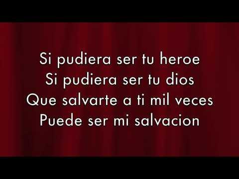 Tekst piosenki Enrique Iglesias - Heroe po polsku