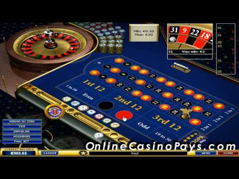 Easy roulette system  Make money playing online roulette