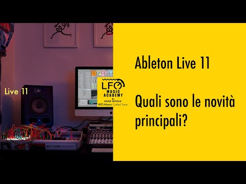 20 MAGGIO: WEBINAR ABLETON LIVE 11 CON SALVO ZAPPALA'