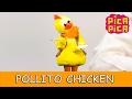 Pica-Pica - Pollito chicken (Videoclip Oficial) - English Pitinglish