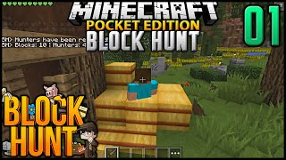 Minecraft POCKET EDITION Block Hunt Hide 'N' Seek Ep 1: NiKkOsWagGz (MCPE Block Hunt)