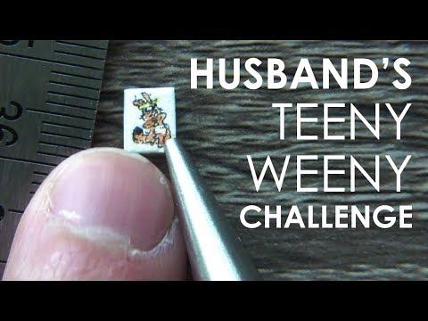 MY HUSBAND'S TEENY WEENY (CHALLENGE)