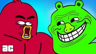 Angry Birds ENTIRE Storyline in 3 minutes! (Angry Birds Cartoon Animation)