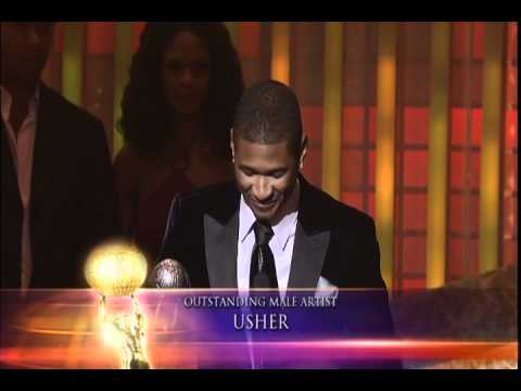 Usher - 36th NAACP Image Awards - Outstanding Male Artist
