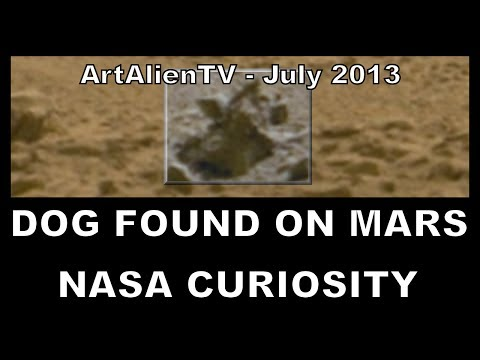 "Dead Alien Creature Found: Mars Curiosity Animal Anomaly: ""Scarlet Sunset"". 1080p ArtAlienTV"