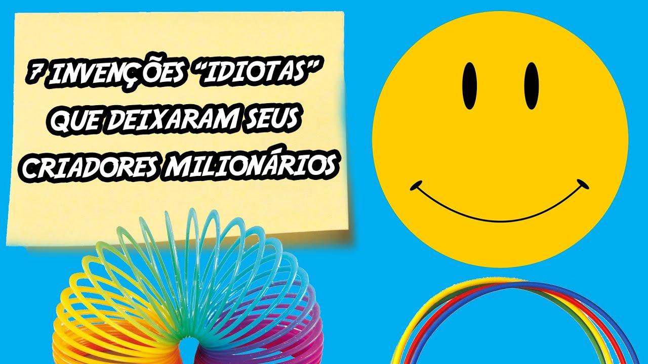 7 invenções idiotas que deixaram seus criadores milionários
