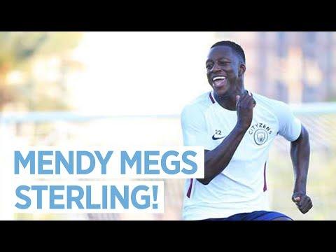 Video: MENDY MEGS STERLING | Man City in Abu Dhabi