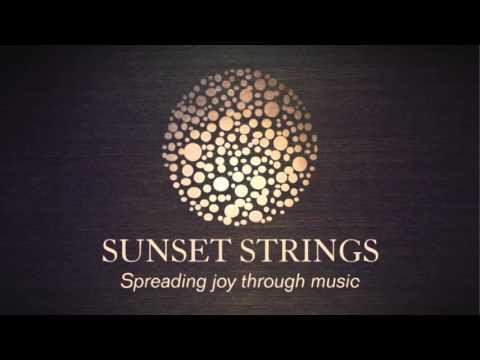 SUNSET STRINGS - Canon by Pachelbel - String Quartet